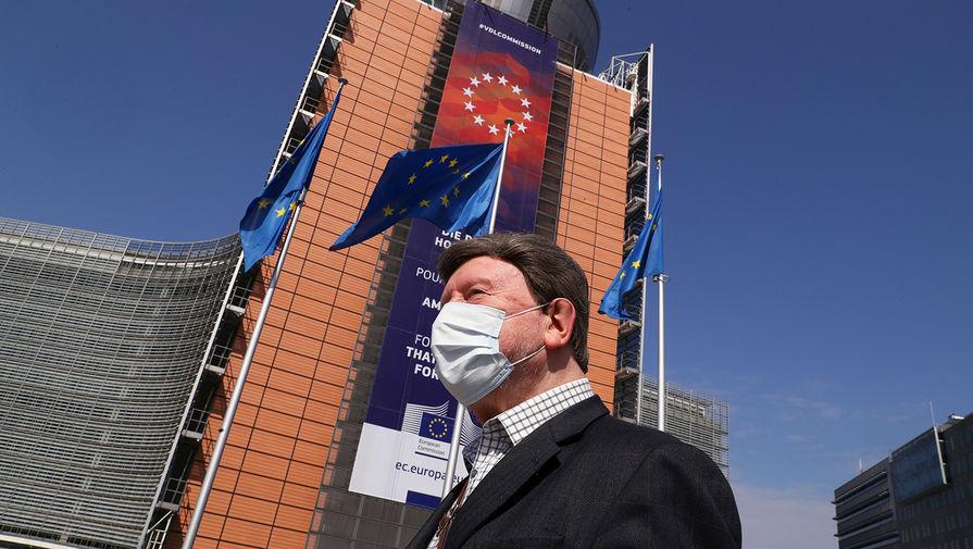 В Брюсселе больше тысячи человек вышли на протест против локдауна
