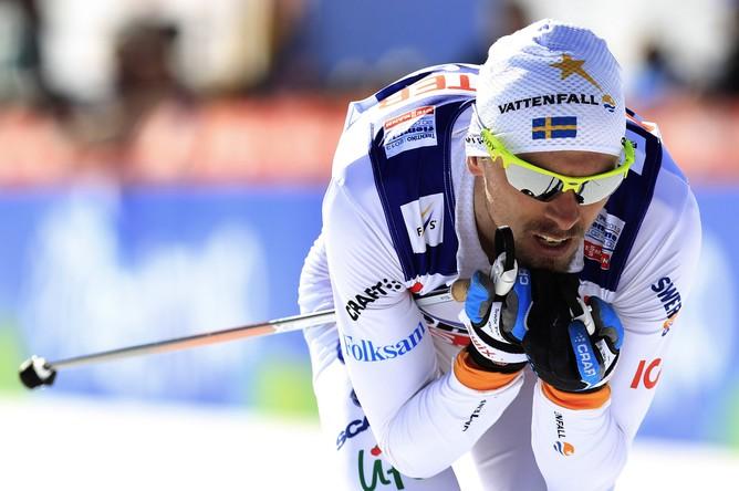 Юхан Олссон провел гонку очень грамотно