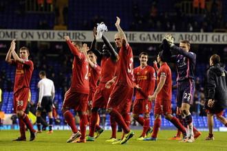 «Ливерпуль» разгромил «Тоттенхэм» в матче английской Премьер-лиги