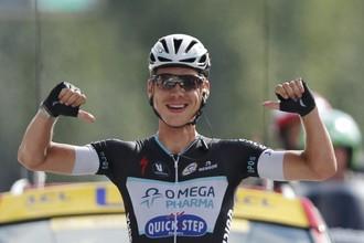 Немецкий велогонщик Тони Мартин выиграл 9-й этап «Тур де Франс»