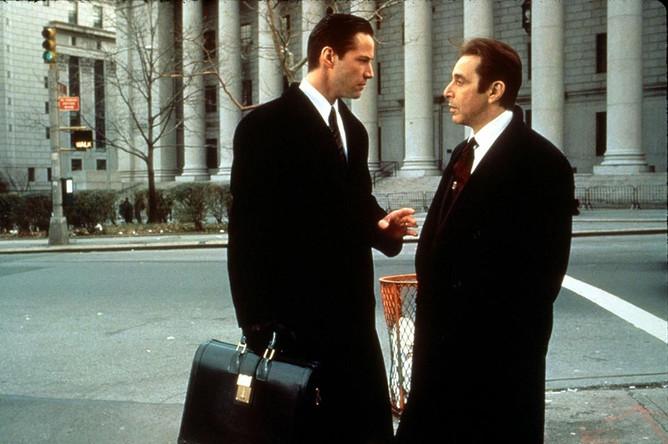 Кадр из фильма «Адвокат дьявола», 1997 год