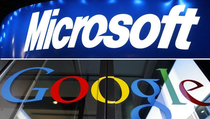 Microsoft и Google пошли на мировую