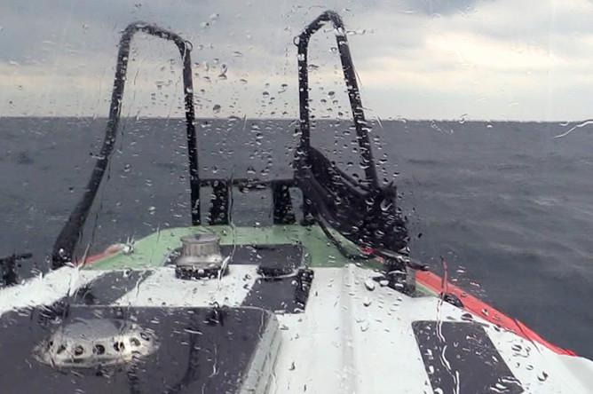 Поисково-спасательная операция на месте кораблекрушения сухогруза «Герои Арсенала» в акватории Черного моря