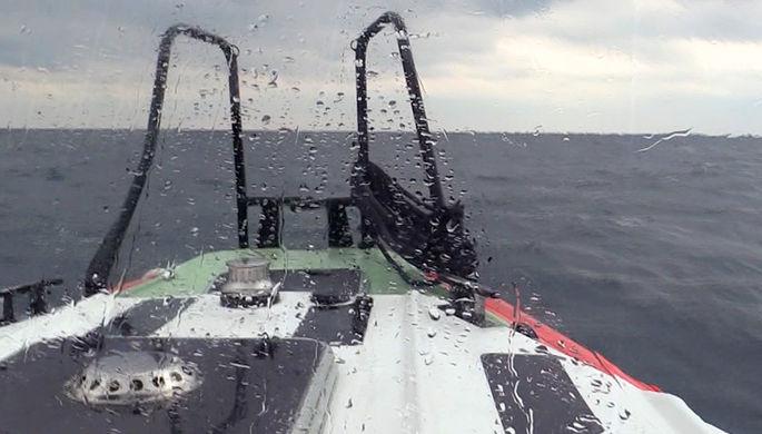 Поисково-спасательная операция на месте кораблекрушения сухогруза «Герои Арсенала» в...