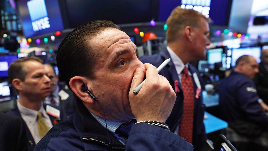 Dow Jones рухнул более чем на 700 пунктов