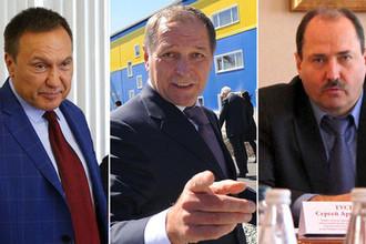 Павел Антов, Константин Струков и Сергей Гусев (коллаж)