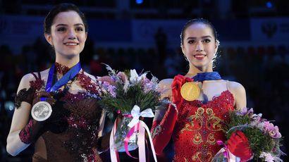 Загитова превзошла Медведеву на чемпионате Европы по фигурному катанию