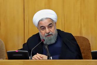 Президент Ирана Хасан Роухани, июнь 2017 года
