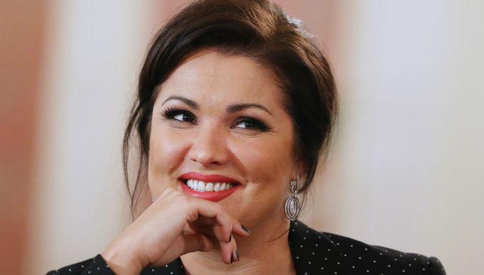 Анна Нетребко на пресс-конференции, посвященной премьере оперы Дж.Пуччини «Манон Леско»...