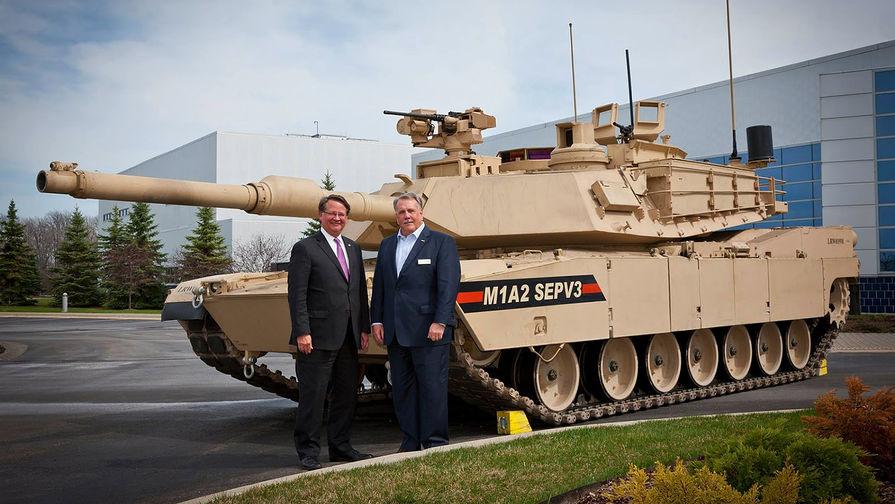 Танк M1 Abrams M1A2 SEP v3