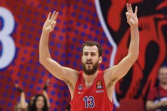 Баскетболист московского ЦСКА Серхио Родригес