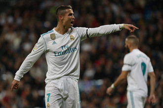 Нападающий мадридского «Реала» Криштиану Роналду