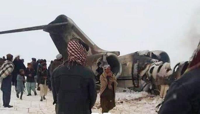 Сбитый самолет Bombardier E-11A
