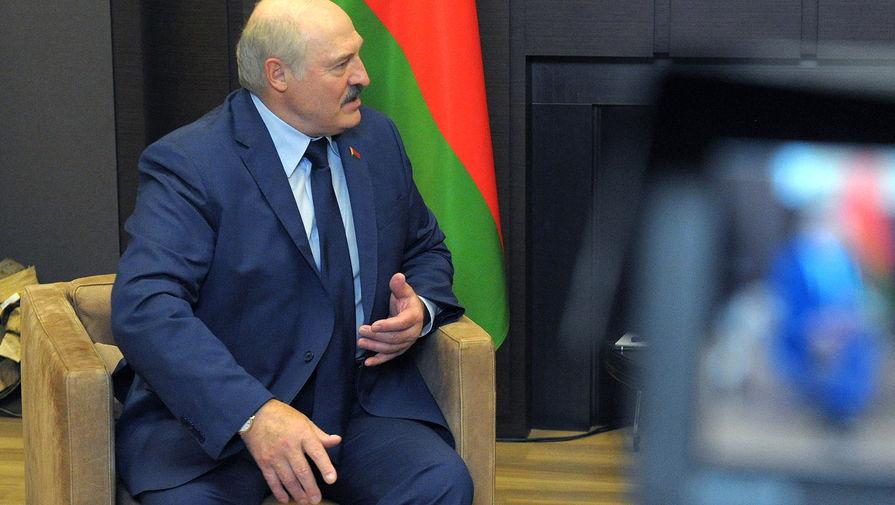 Президент Белоруссии Александр Лукашенко во время встречи с президентом РФ Владимиром Путиным 28 мая 2021 года