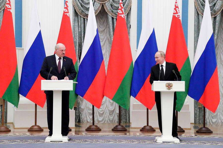 """Путин заявил РѕС""""ормировании единого платежного пространства СЃР'елоруссией"""