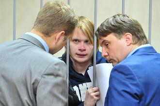 Дмитрий Богатов в Пресненском суде, 10 апреля 2017 года