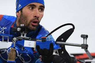 Биатлонист сборной Франции Мартен Фуркад