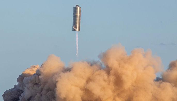 Летающая банка: Маск испытал марсианский корабль