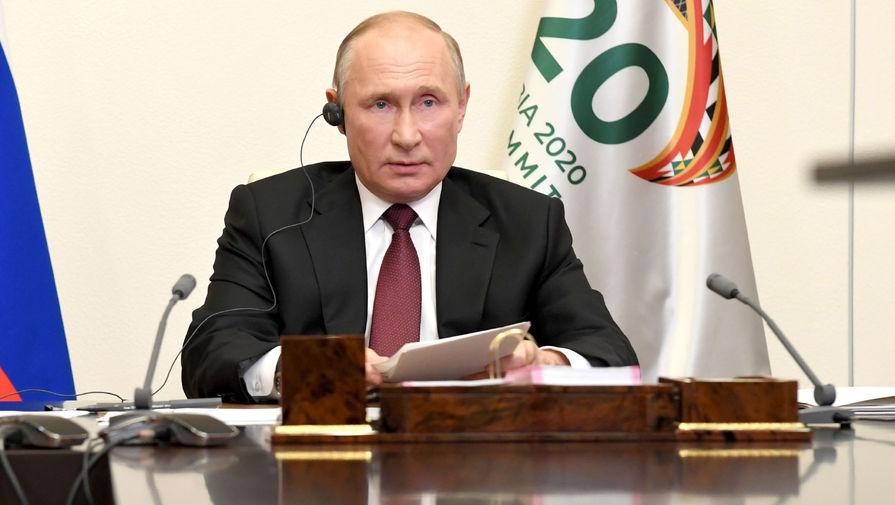 Путин спрогнозировал рост безработицы в мире