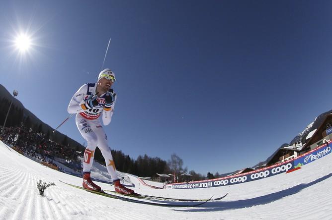 Юхан Олссон оторвался от соперников и сумел сохранить отрыв до самого финиша