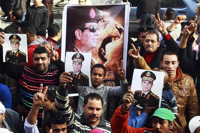Подавляющее большинство жителей Египта, принимавших участие в референдуме по новой конституции, поддержали текст документа