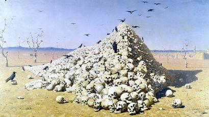 «Апофеоз войны», Василий Верещагин, 1871 год