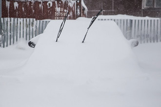 Последствия снежной бури на острове Сахалин, январь 2018 года