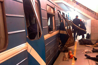 Последствия взрыва в вагоне петербургского метро, 3 апреля 2017 года