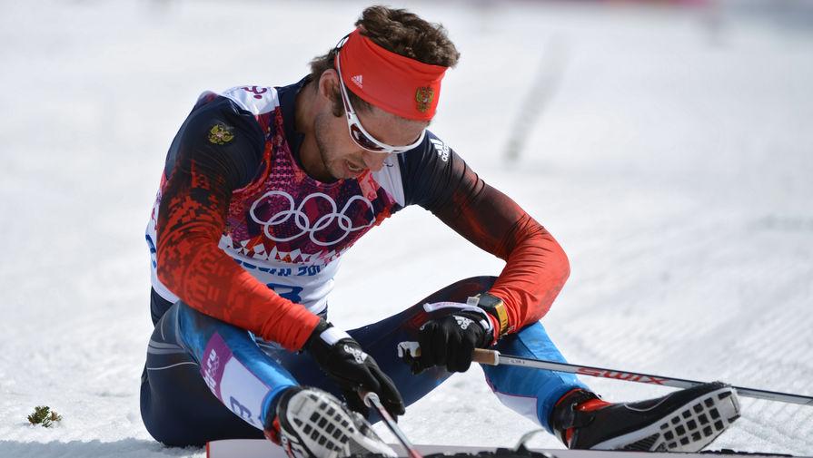 Российский лыжник Илья Черноусов