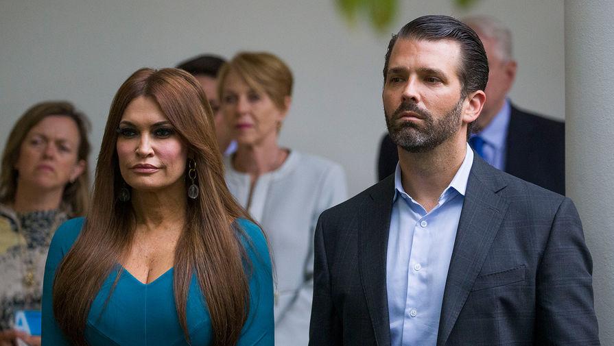 Кимберли Гилфойл и Дональд Трамп-младший