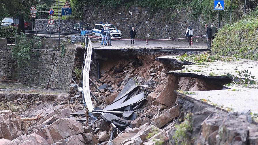 Шторм унес жизни четырех человек в Италии и Франции