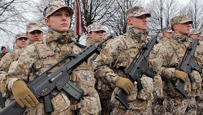 Армия Латвии станет обязательной