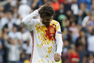Жерар Пике и сборная Испании вслед за чемпионатом мира провалили и чемпионат Европы