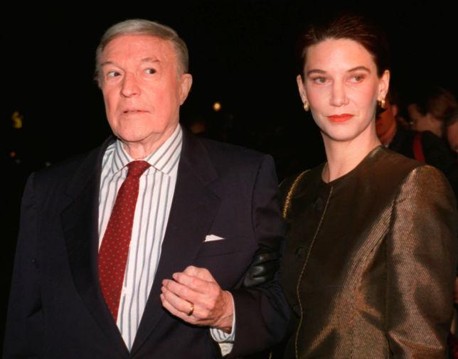 Джин Келли со своей супругой Патрицией Уорд, 1994 год