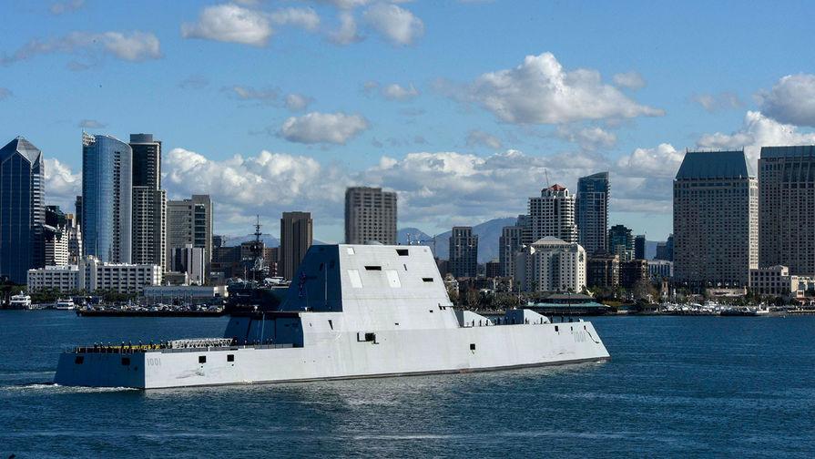 Стелс-эсминец во главе беспилотников: в США нашли применение для Zumwalt
