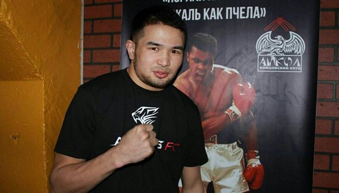 Боец из Киргизии Дастан Али Шаршеев