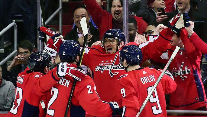 Александр Овечкин достиг рубежа в 600 шайб в НХЛ