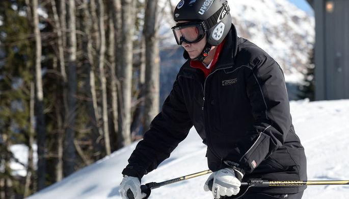 Путин и Лукашенко покатались на лыжах в Сочи