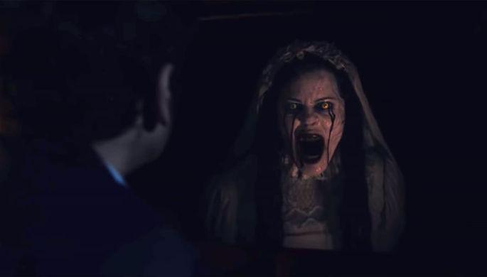 Кадр из фильма «Проклятие плачущей» (2019)
