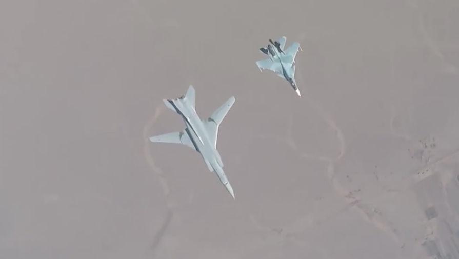 Сопровождение над Балтикой: Ту-160 совершили плановый полет