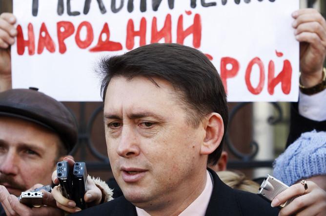 Cуд в Киеве отпустил бывшего охранника Кучмы Николая Мельниченко под залог