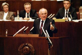 Горбачев давно аслужил право считаться общенациональным авторитетом