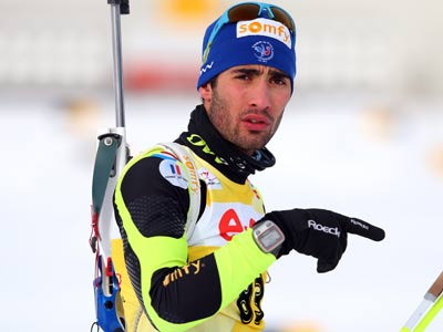 Фраyцузский биатлонист Мартен Фуркад выиграл индивидуальную гонку на 20 км на этапе Кубка Мира в шведском Эстерсунде.