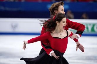 Елена Ильиных и Руслан Жиганшин стали вторыми в короткой программе на чемпионате Европы по фигурному катанию