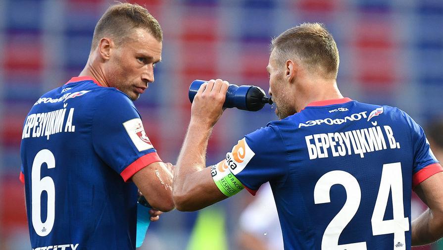 Футболисты Алексей и Василий Березуцкие
