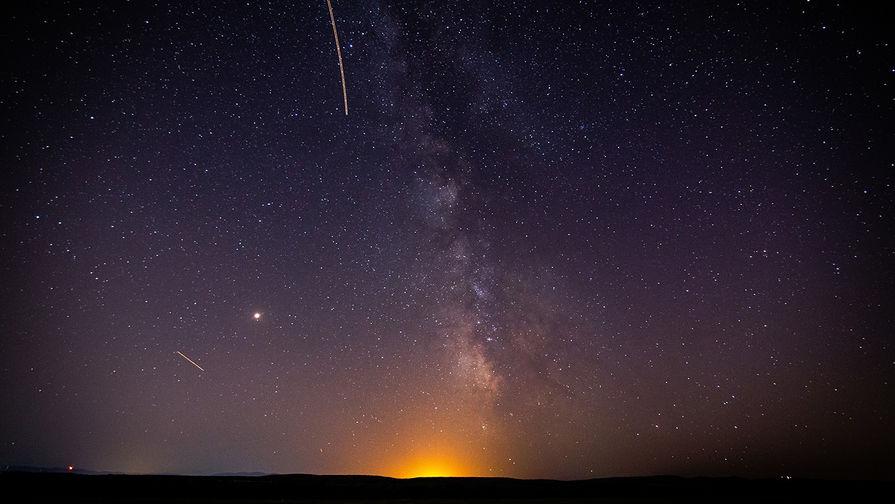 Москвичи увидят метеорный потоков Персеиды в ночь с 12 на 13 августа
