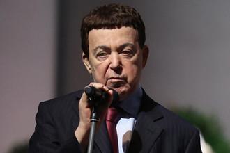 Первый запред комитета Госдумы по культуре Иосиф Кобзон на церемонии прощания с поэтом Андреем Дементьевым в Концертном зале имени Чайковского, июнь 2018 года