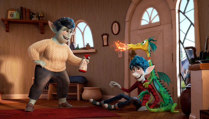 Кадр из мультфильма «Вперед»