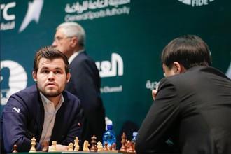 Чемпион мира по шахматам Магнус Карлсен