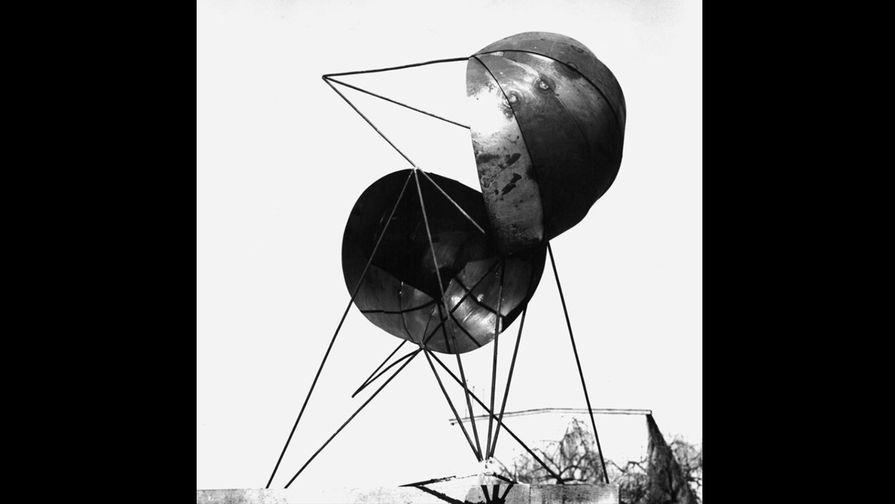 Эскиз к работе «Прибытие / Пространственная композиция», 1967 год